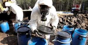 Как утилизируют химические отходы
