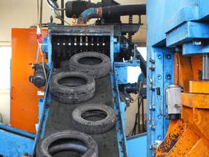 Оборудование для переработки автошин