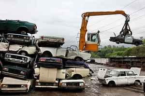 Пункты утилизации автомобилей