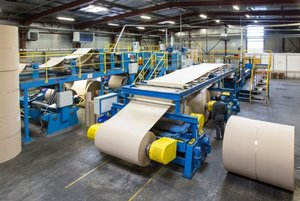 Завод по переработке бумаги