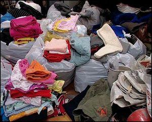 Куда сдать ненужную одежду