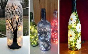 Что можно сделать из стеклянных бутылок